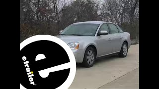 Trailer Hitch Installation - 2007 Ford Five Hundred - Draw-Tite - etrailer.com