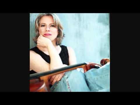 BACH JS -  Cello Suite 3 (Allemande, excerpt) - Tanya Tomkins