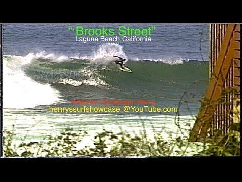 """Brooks Street"" Laguna Beach CA. surfing"