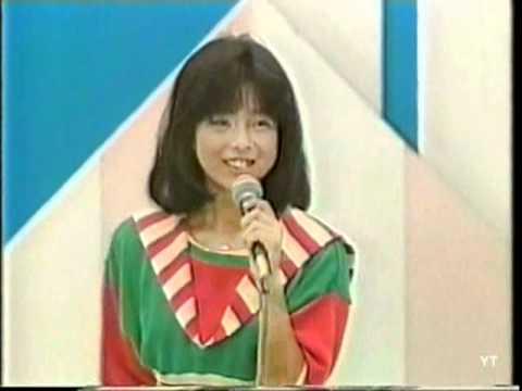 일본인가수 Shiho Wakabayashi (若林志穂) - Natsu no Balcony 1985