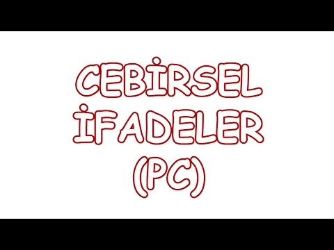 Cebirsel İfadeler (PC)