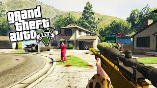 GTA 5 Next Gen - CALL OF DUTY in GTA Online! (GTA 5 First Person Gameplay)