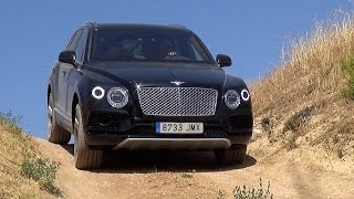 Bentayga and Maserati Levante Off-Road and Track Action!