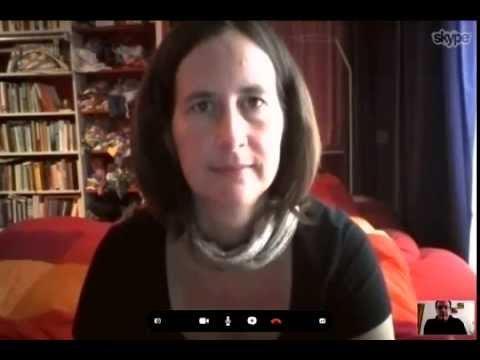 Kathrin Röggla: Video-Vorabgespräch zu ihrer Essener Poetikdozentur (2014)