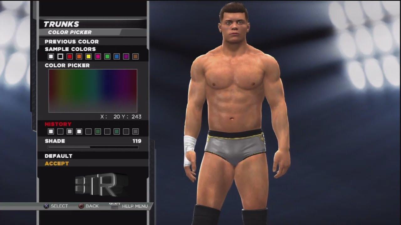 WWE 2K15 Superstar Threads Cody Rhodes Battleground 2013 Attire YouTube