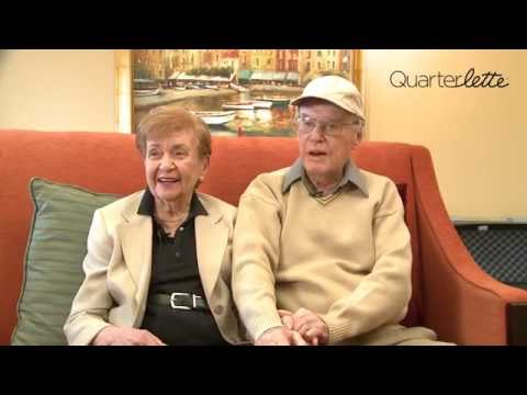 Quarterlette:  How to Make a Marriage Last for 70 Years