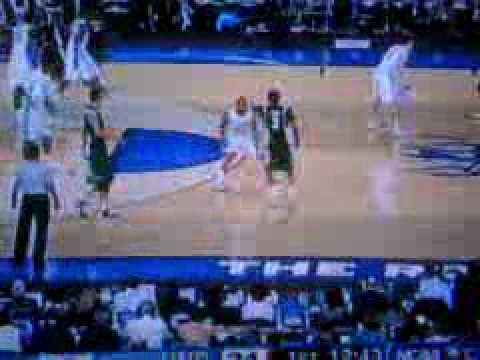 1st Half of the 2009 NCAA Final Four: Michigan State vs N.Carolina