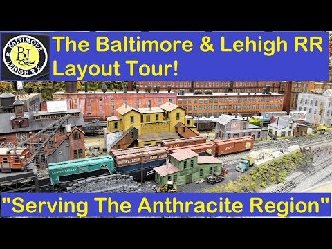Bill Schopf's  Baltimore & Lehigh RR: Layout Tour