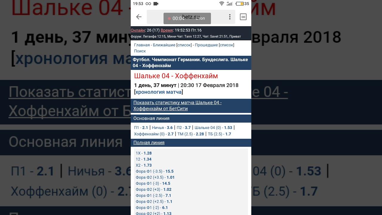 Шальке 04 – Хоффенхайм. Прогноз матча чемпионата Германии