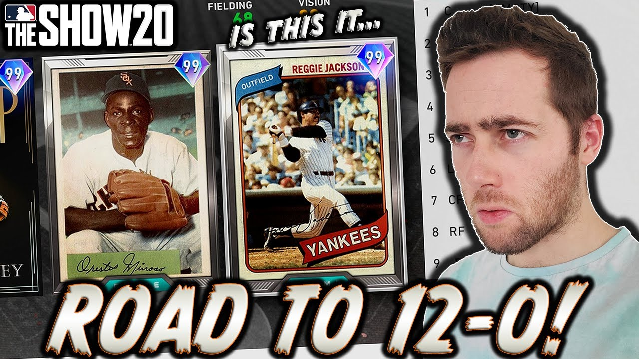THE BEST TEAM I'VE DRAFTED...MLB THE SHOW 20 BATTLE ROYALE