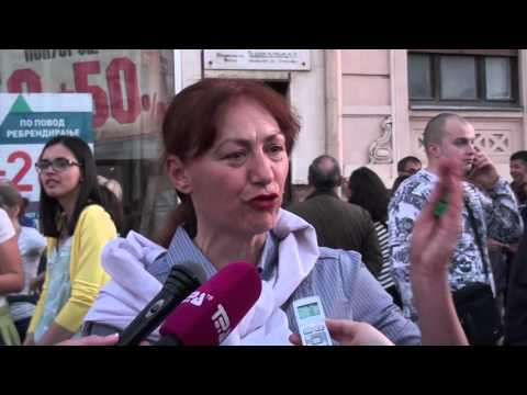 Tv Tera Bitola  Cetvrt den protesti vo Bitola 16 04