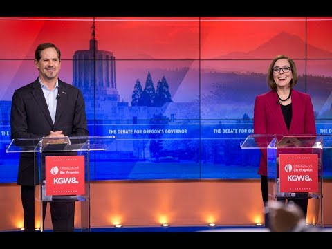 Highlights of the Oregon governor's debate between Kate Brown and Knute Buehler