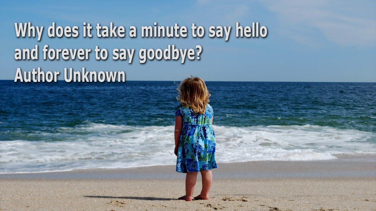 Quotes For Goodbyes Meet Again Not Forever Youtube
