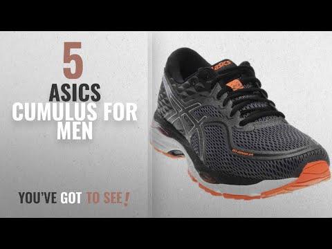 top-10-asics-cumulus-[2018-]:-asics-men's-gel-cumulus-19-running-shoe,-carbon/black/hot-orange,-11