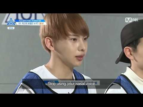 engsub Produce 101/ss2/ep7 Spring Day team 2/3