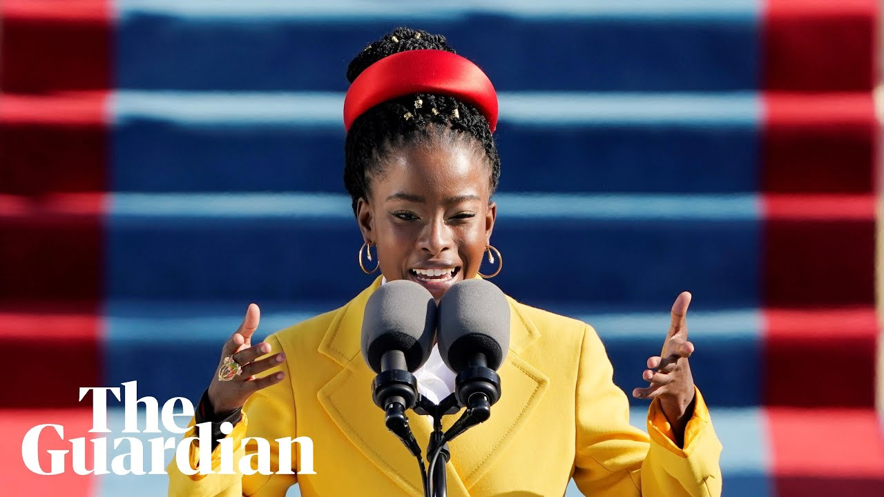 'The Hill We Climb': Inaugural poet Amanda Gorman steals the show