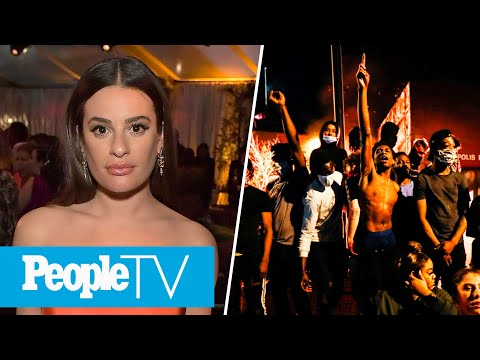 Lea Michele Responds To Accusations, Voices From Protests After George Floyd's Death | PeopleTV