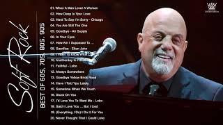 chicago, Lionel Richie, Air Supply, Billy Joel, Bread .. Best Soft Rock Songs