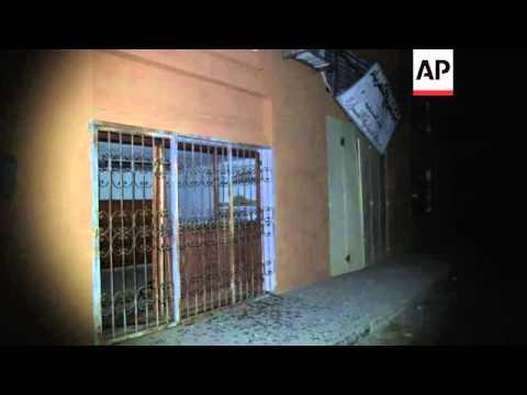 Aftermath of Israeli airstrike in Khan Younis; hospital scenes