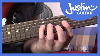 The Major Scale Pattern 4 - Guitar Lesson Tutorial - Five Pattern System