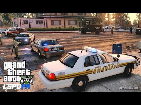 LSPDFR #542 PALETO BAY PATROL!! (GTA 5 REAL LIFE POLICE PC MOD) SINGLE PLAYER #600K