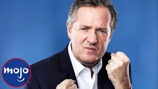 Top 10 Craziest Piers Morgan Celebrity Feuds