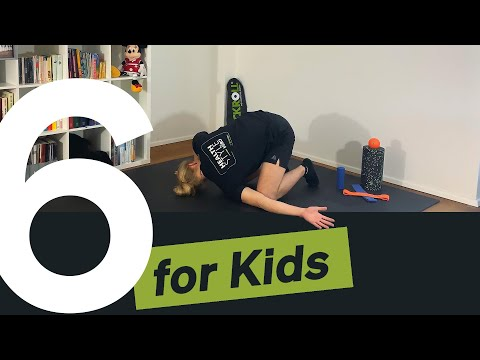 20min Training & Fun | Monkey rolls 🐵 | BLACKROLL® for Kids