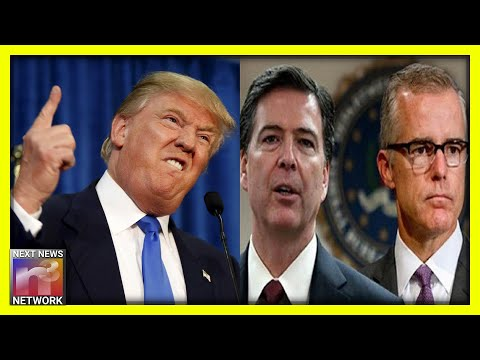 President Trump Hammers Andrew McCabe, James Comey in BRUTAL Late Night Tweet