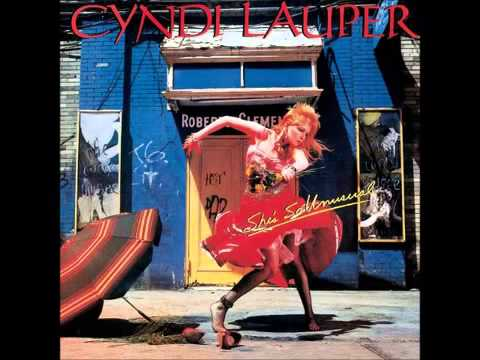 Cyndi Lauper - She Bop - HQ Audio -- LYRICS