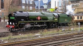 60009 Union Of South Africa The Christmas Yorkshireman - 35028 Clan Line Vsoe 21 12 2013