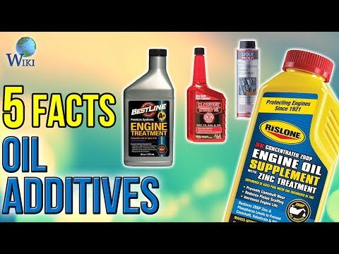 Oil Additives: 5 Fast Facts