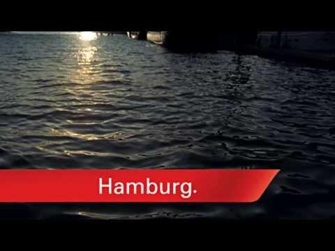 Hamburg. Die Metropole am Wasser.