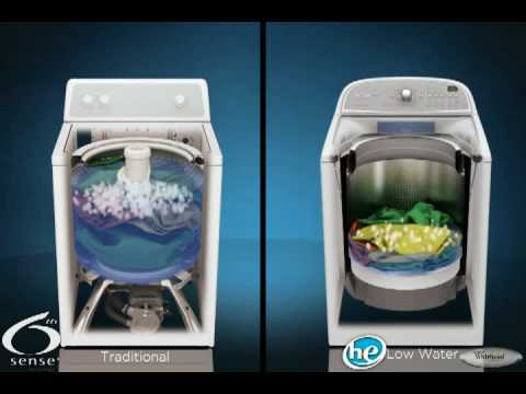 Whirlpool Cabrio 5000 Series H2low Washer Youtube