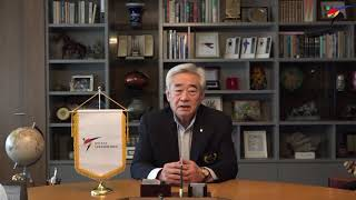 Taekwondo Day - Congratulatory message from WT President Chungwon Choue