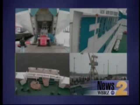 GTS FINNJET on WBRZ News 2 - 2005