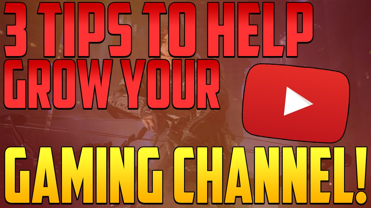 How To Promote Your Gaming Channel 3 Tips With Consoles Computers Youtube