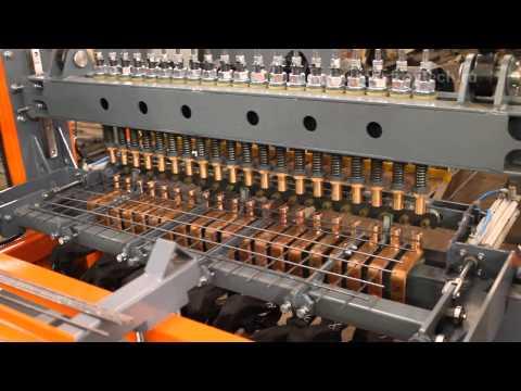 Ручная линия сварки сеток РЛМ-1000 MANUAL MULTI SPOT WELDING MACHINE RLM SERIES