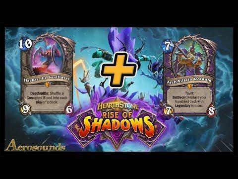 Worst Luck Ever!  Hakkar Warlock With Rafaam! Rise of Shadows Hearthstone