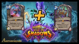 Worst Luck Ever!  Hakkar Warlock With Rafaam! Rise of Shadows Hearthstone