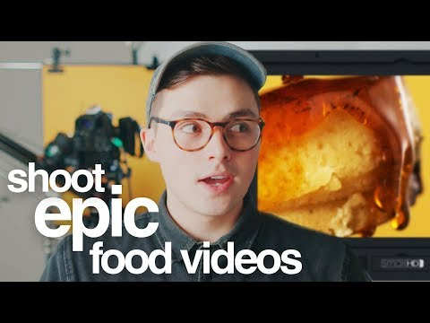 Tutorial: How To Shoot Food Commercials Like A Pro