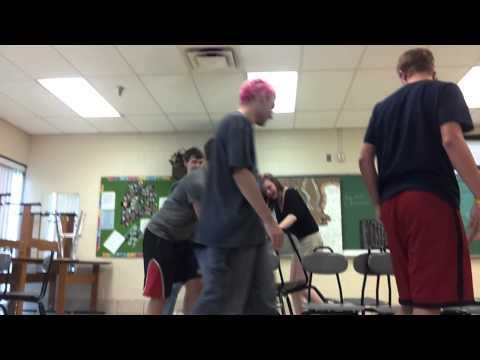 Musical Chairs in Art Class