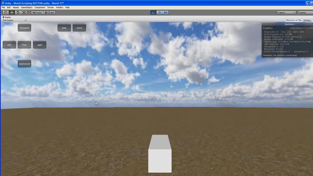 Unity 3D Simple HUD implementation