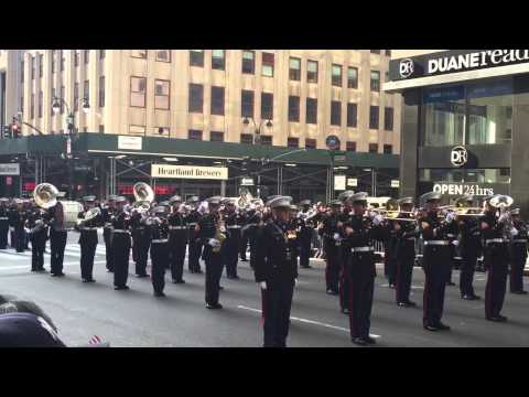 NYC Veterans Day Parade 2014 - Marine Corps