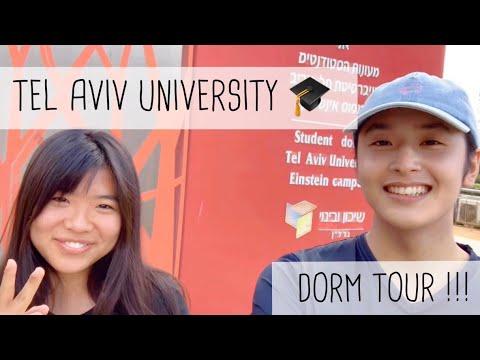 Tel Aviv University, Dorm Tour!!!