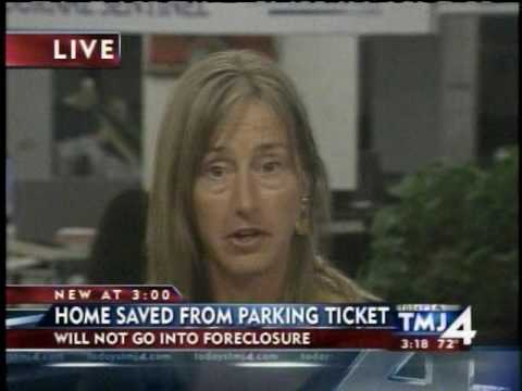 Parking ticket home foreclosure