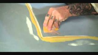 Fiberglass Kit Car Repairs-Gelcoat Stress Cracks Fixed The Easy Way!