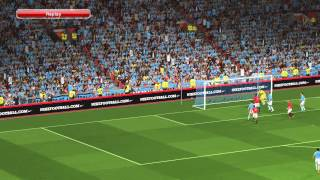 pes2014 Manchester City vs Manchester United