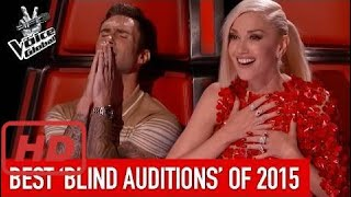 The voice 2017 america  BEST 'Blind Auditions' of 2015 | The Voice Global