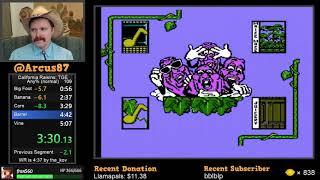 California Raisins NES speedrun in 4:56 by Arcus