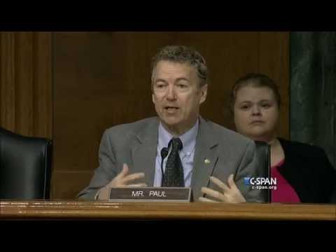 Sen. Rand Paul questions on ISIS (C-SPAN)
